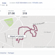 whistle Course runtastic chien